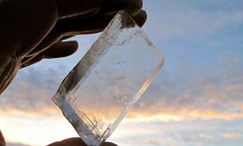 Icelandic spar, viking crystal