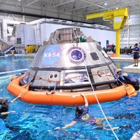 NASA Testing Orion Spacecraft Water Recovery