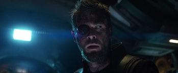 Thor Eye Wound Ragnarok Avengers Infinity War