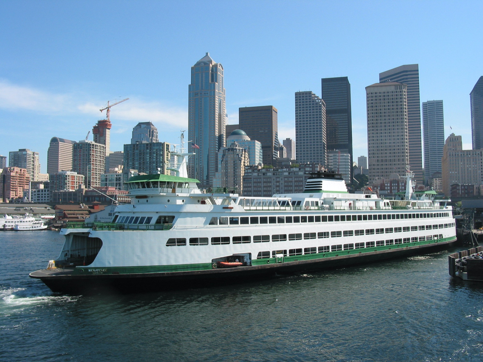 Bremerton Seattle Ferry
