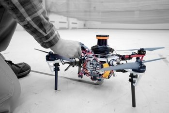 quadrotor drone