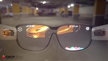 Apple Glasses Concept Render