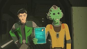 Kaz and Neeku Star Wars Resistance