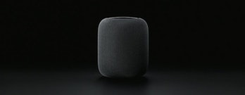 The Apple HomePod.