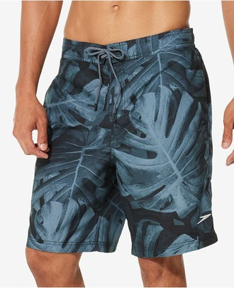 Speedo Men's Kalo Palm 9-Inch Swim Trunks