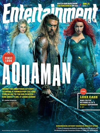 Aquaman Entertainment Weekly