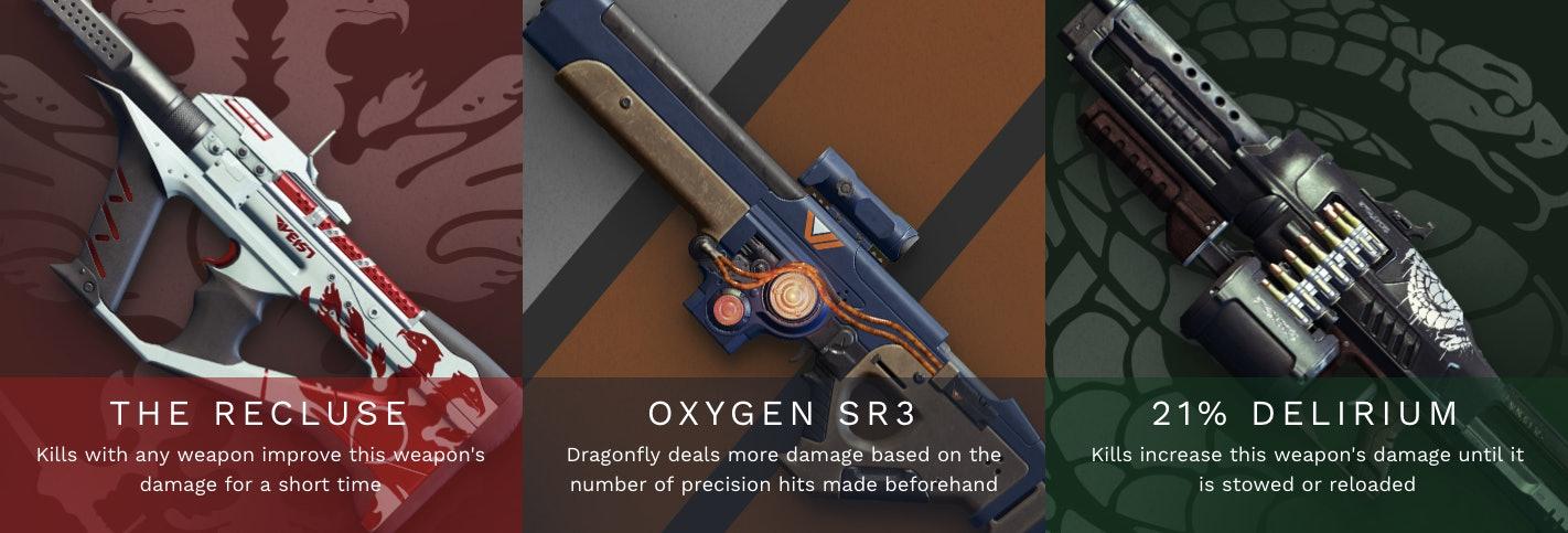 destiny 2 season of the drifter pinnacle weapons
