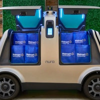 Walmart is testing out delivering groceries with self-driving cars