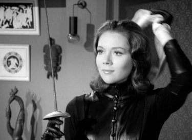 Diana Rigg as Mrs. Emma Peel in 'The Avengers' (1965)