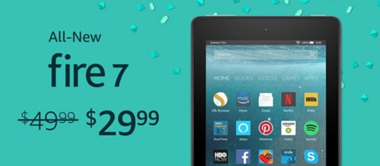 amazon fire 7 tablet discount prime day