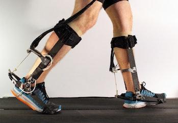 robot ankle brace legs exoskeleton