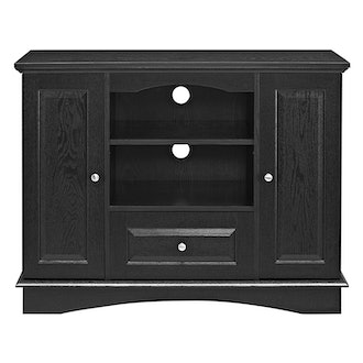 "Walker Edison 42"" Highboy Style Wood TV Stand Console"