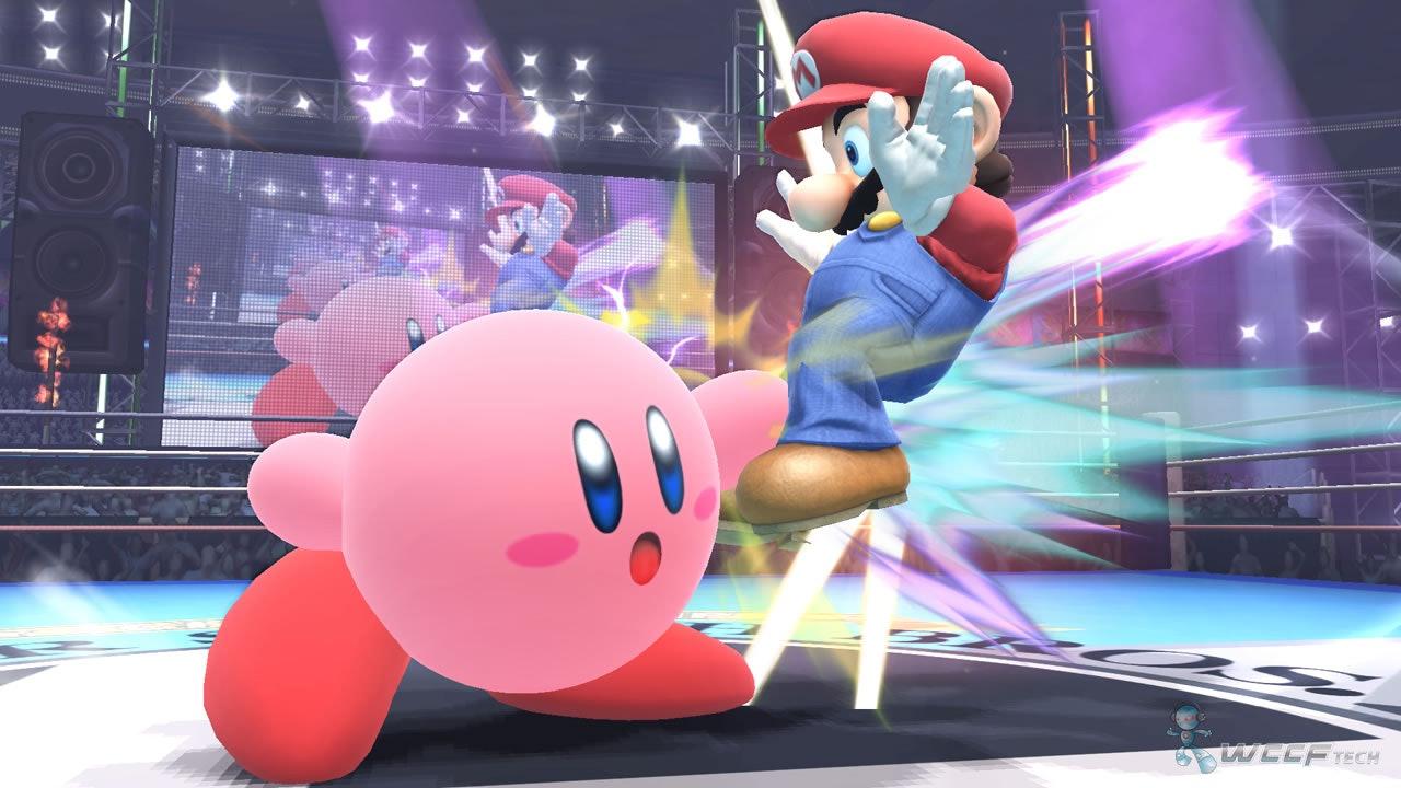 Kirby super smash bros fighting video games mario wii u nitendo