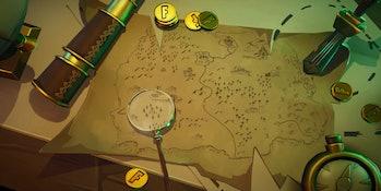 Fortnite Season 8 Treasure Map Loading Screen