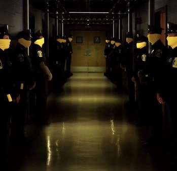 HBO's 'Watchmen' preview shows police wearing yellow face masks