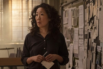 Sandra Oh in Killing Eve Season 2
