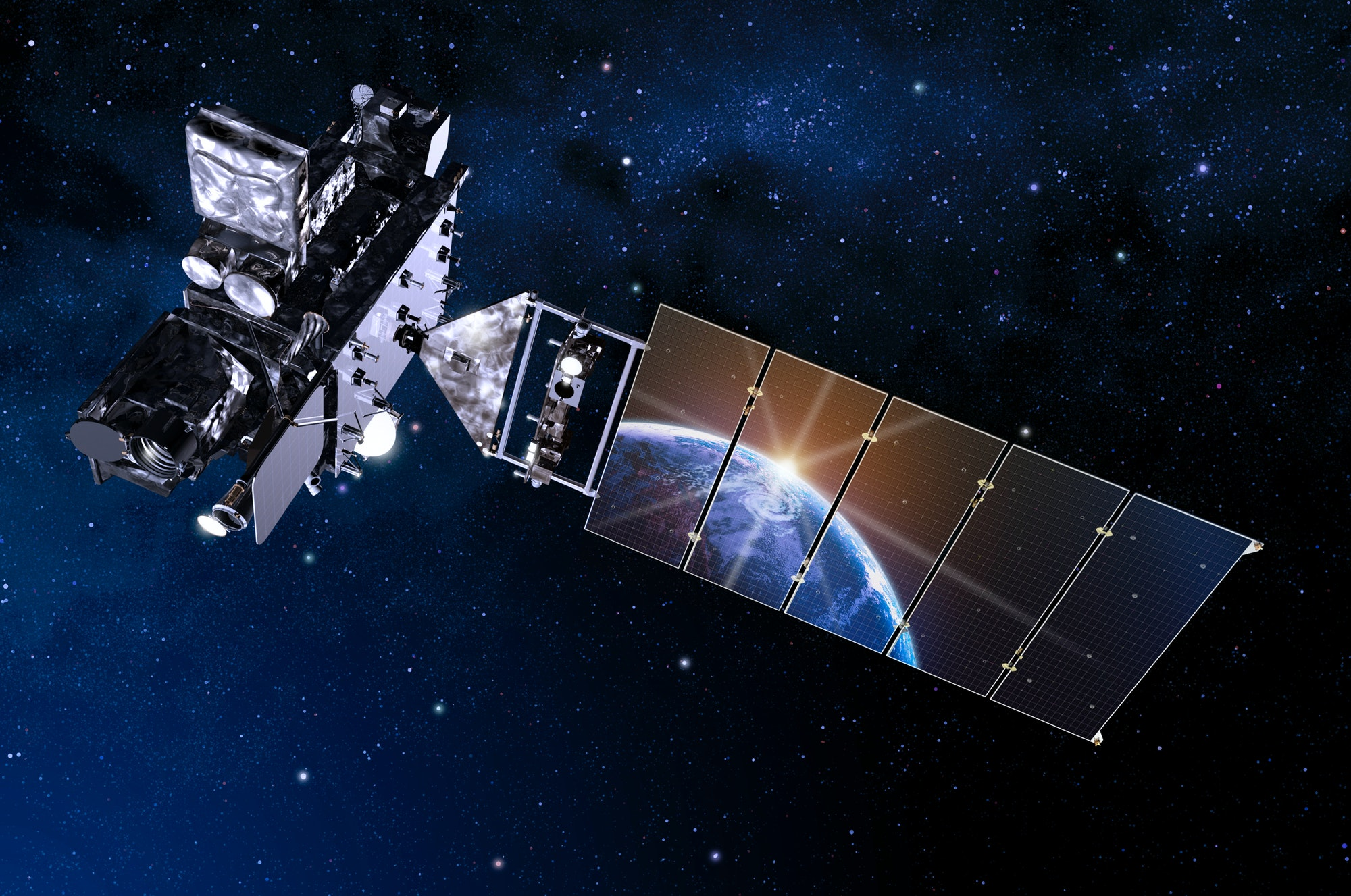 GOES-R will be able to scan the globe five times faster than current satellites.