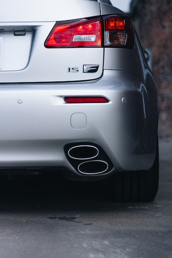 car exhaust tailpipe