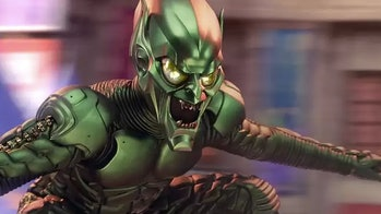 Green Goblin in the original Spider-Man movie.