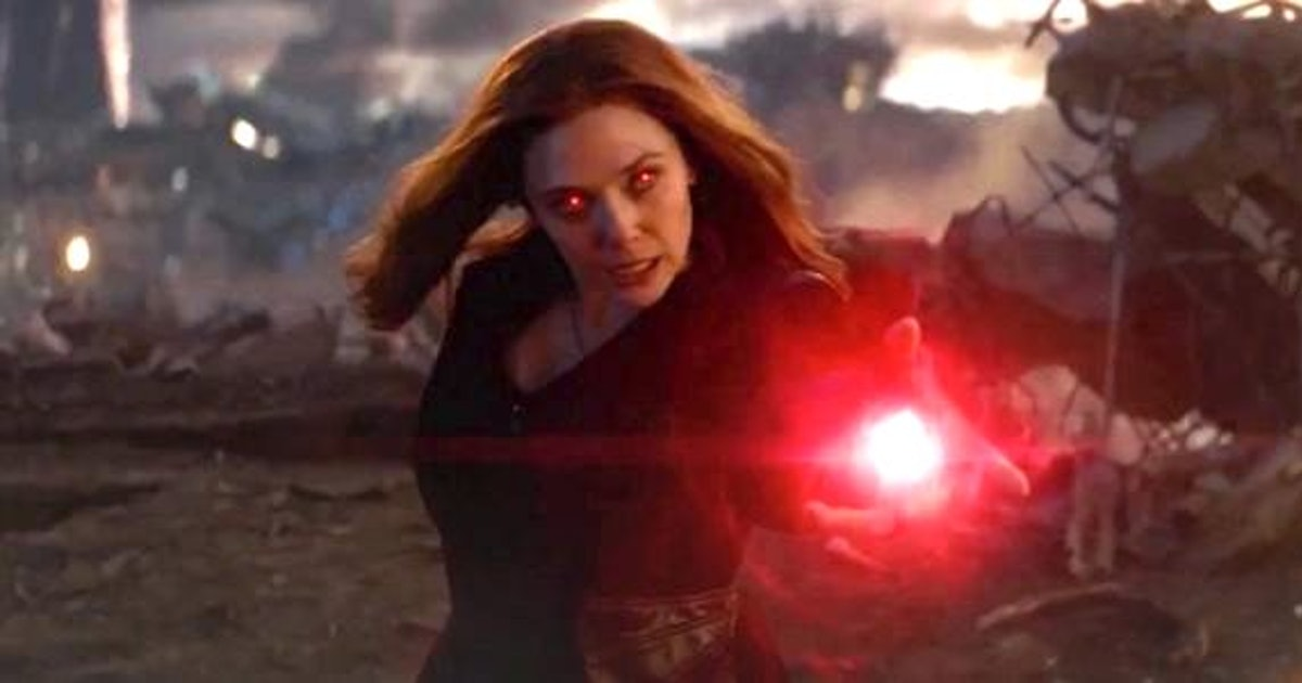 Marvel Phase 4 theory reveals Scarlet Witch could be the MCU's new villain