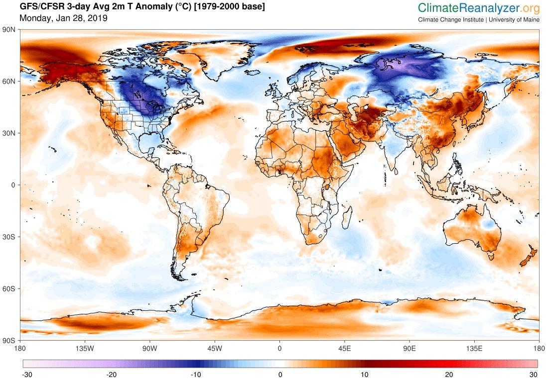 NOAA's Global Forecast System model