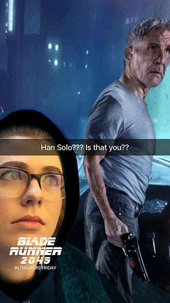 Snapchat Blade Runner