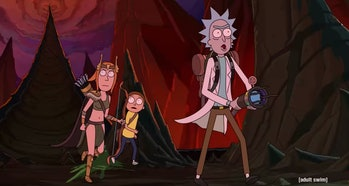 rick and morty season 4 summer ranger