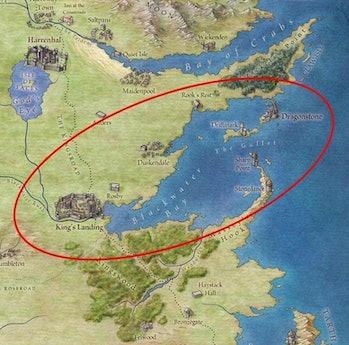 How did Daenerys Targaryen and Euron Greyjoy not meet?