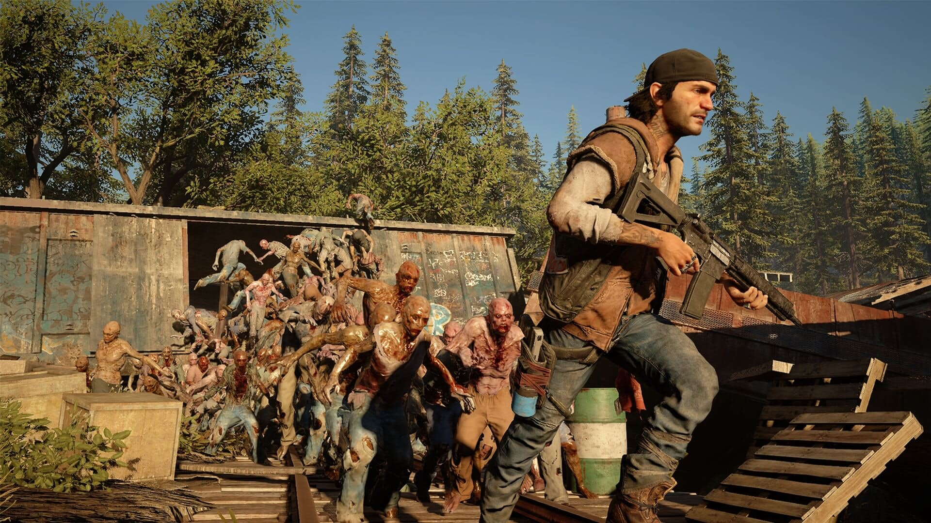 Days Gone zombie freaker horde