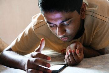 smartphone teen