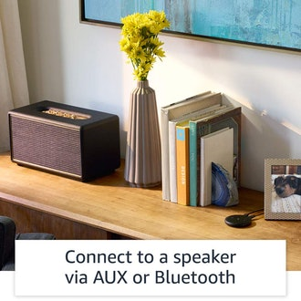 Echo Input – Bring Alexa to your own speaker- Black