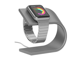 Nomad Stand for Apple Watch (Silver)