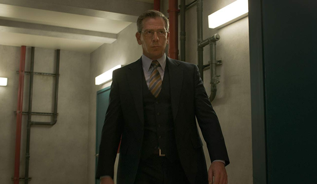Ben Mendelsohn as Talos in human form in Marvel's 'Captain Marvel'