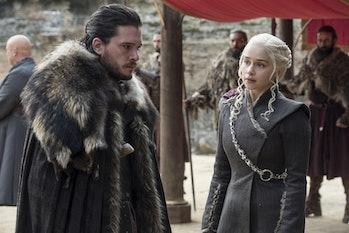 Jon Snow and Dany