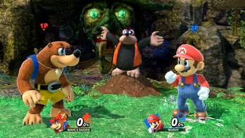 Super Smash Bros Maro Banjo Kazooie