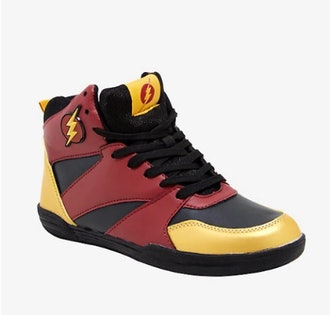 DC THE FLASH RED BASKETBALL SNEAKERS
