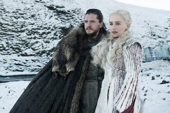 Game of Thrones Jon and Dany