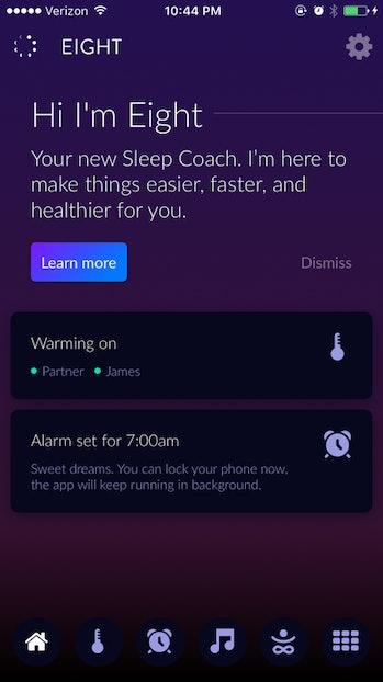 Eight sleep app review