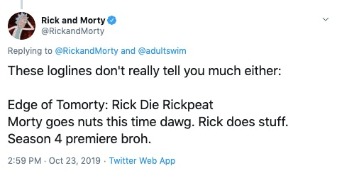 rick and morty episode 1 synopsis