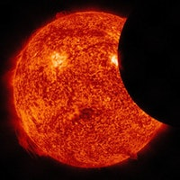 The Solar Eclipse Will Touch All of North America on Monday
