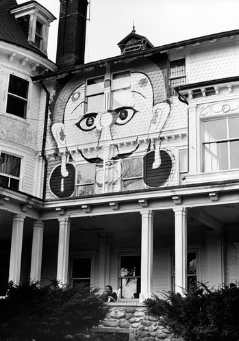Timothy Leary, the Millbrook house