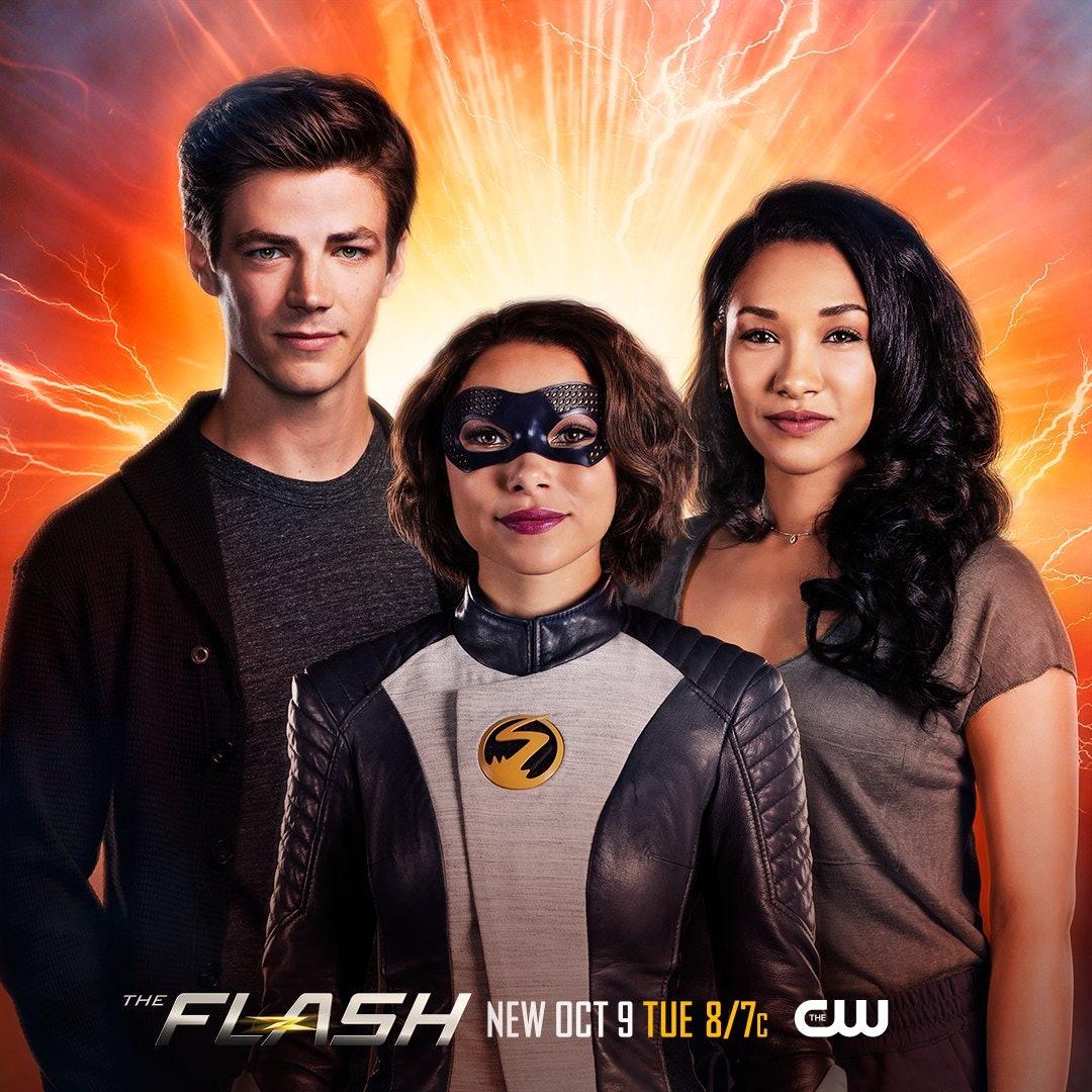 'The Flash' Season 5 Family Photo