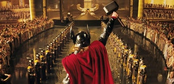 Bow down and worship Thor, ye lowly humans.