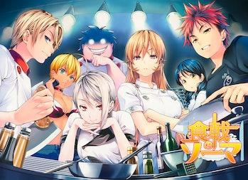 Image from popular Japanese manga, 'Food Wars!: Shokugeki no Soma'