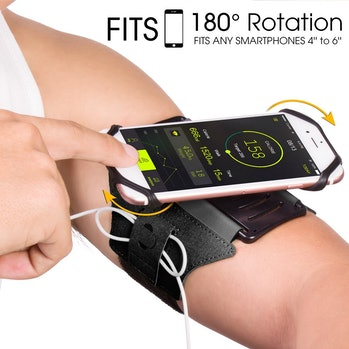 rotatable arm band