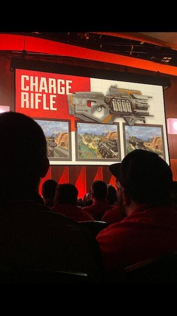 apex legends season 3 leak charge rifle