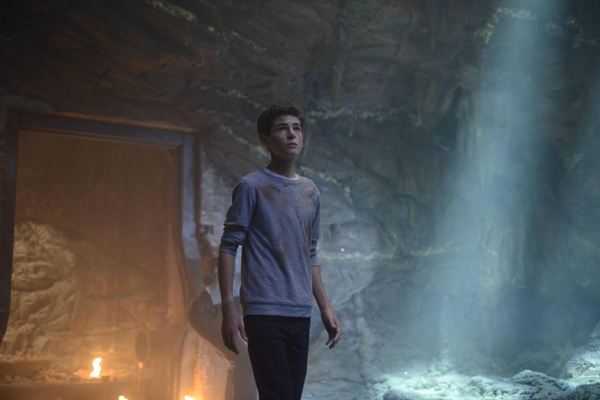 David Mazouz as a young Bruce Wayne in 'Gotham' on Fox.