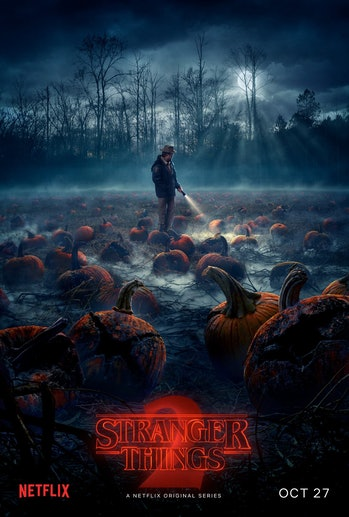 Stranger Things 2 pumpkins poster