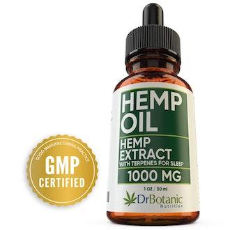 Dr. Botanic Nutrition Hemp Oil with Melatonin and Valerian