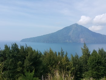 Krakatau Island, Sunda Strait, Lampung Province